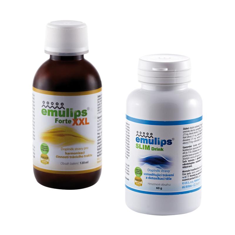 Emulips Forte XXL + Emulips Slim Drink
